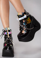 Black Magic Platform Boots
