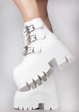 Heaven Can Wait Platform Boots