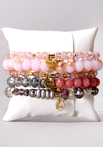 Angel Eyes Bracelet Stack