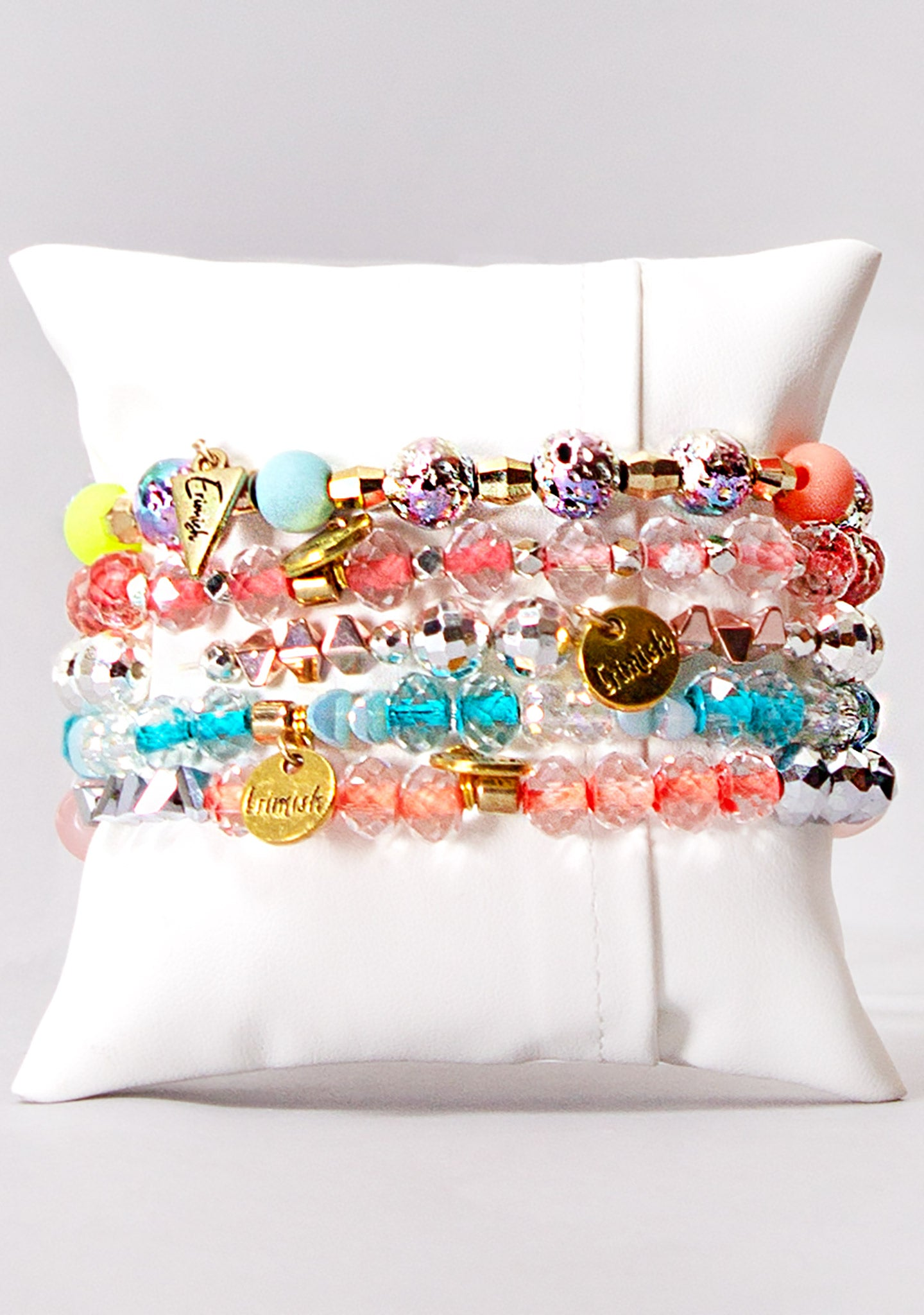 Electric Carnival Bracelet Stack