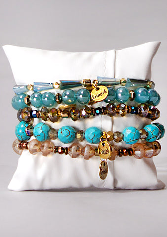 Frosted Wonderland Bracelet Stack