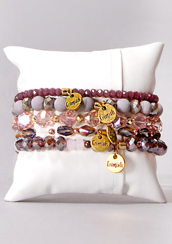 Mauvelous Bracelet Stack