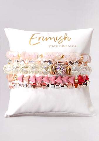 Rose All Day Bracelet Stack