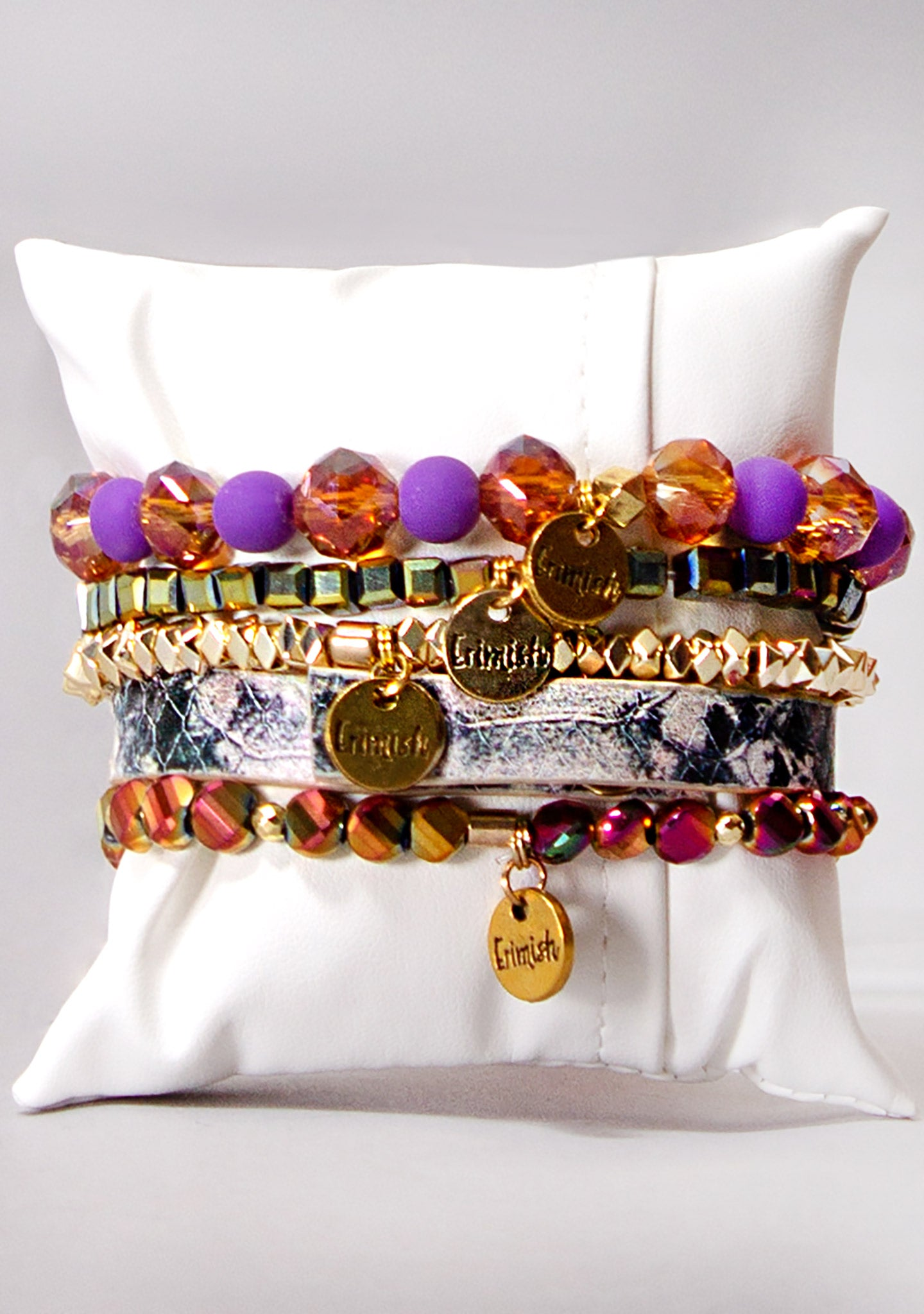 Sunset Sky Bracelet Stack