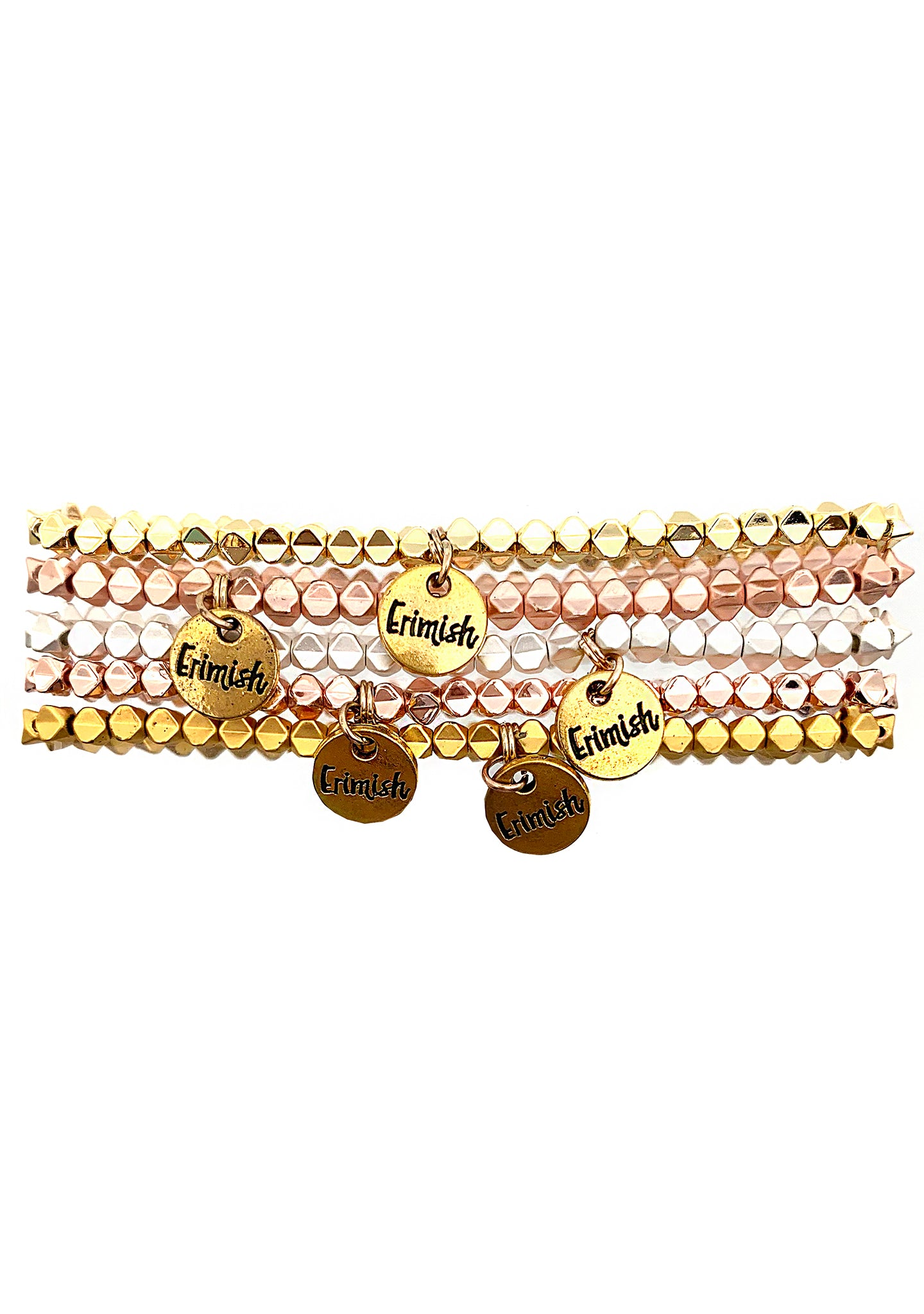 Erimish 90's Chix Pop Rocks Stacked Bracelet