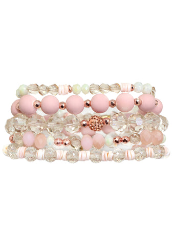 Bubble Bath Bracelet Stack