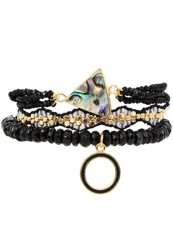 Celestial Magic Stacked Bracelet