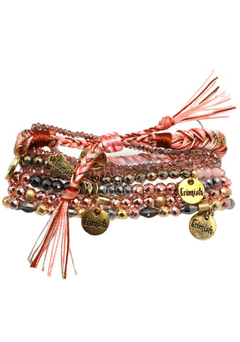 Erimish Charming Carnival Cotton Candy Dreams Bracelet Stack