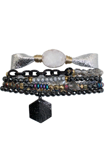 Charming Carnival Funhouse Fab Bracelet Stack