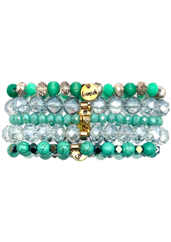 Don't Be Jaded Bracelet Stack
