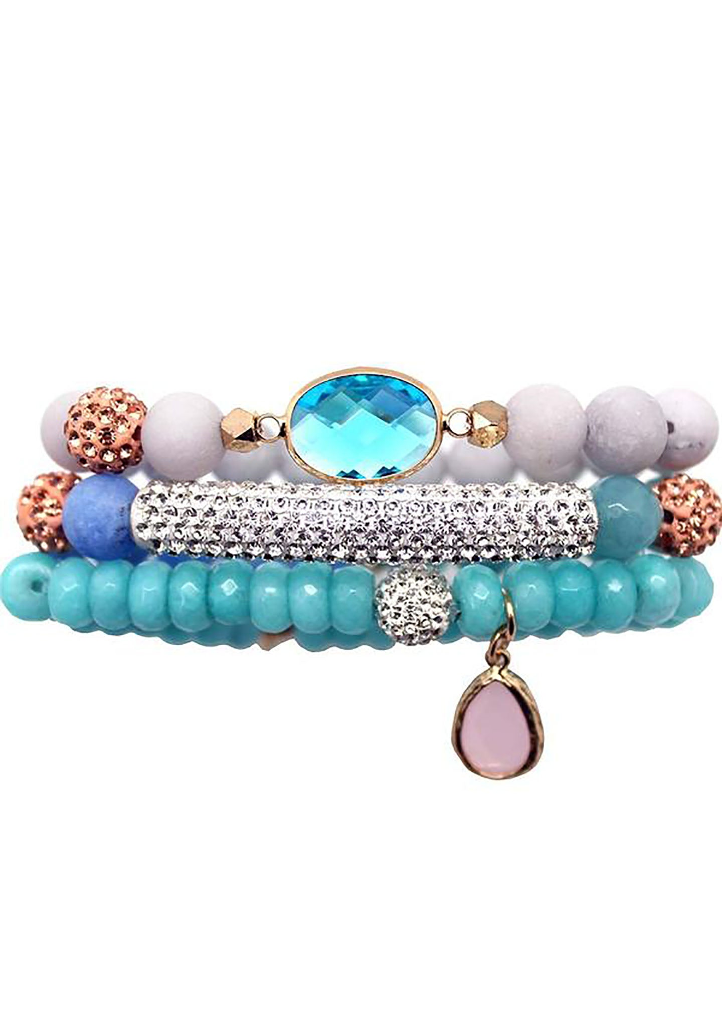 Erimish Travel to Me Albany Bracelet Stack