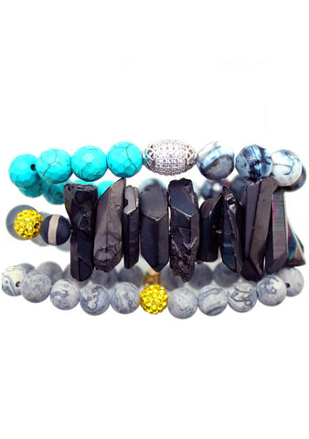 Erimish Travel to Me Kyoto Bracelet Stack