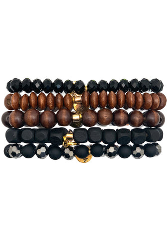 Fireside Chill Bracelet Stack