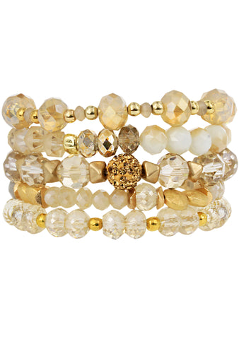 Golden Hour Stacked Bracelet