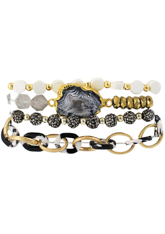 Gypsy Glamour Stacked Bracelet