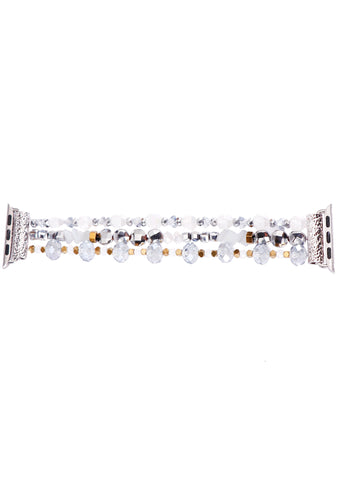 Snowflakes and Lights Holiday Bracelet