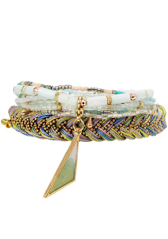 Radiant Energy Stacked Bracelet