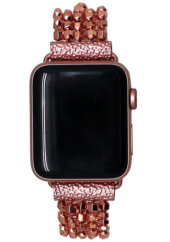 Shine On Apple Watch Bracelet Band in Rose Gold