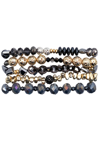 Twilight Gold Bracelet Stack