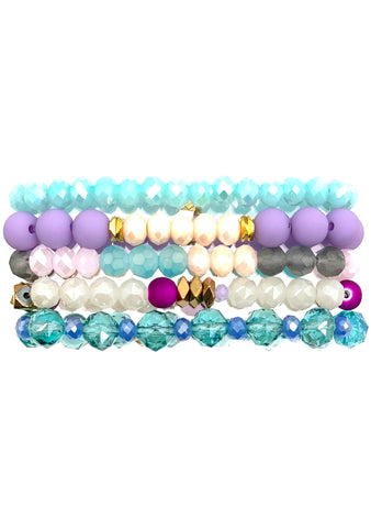 Unicorn Cookie Bracelet Stack