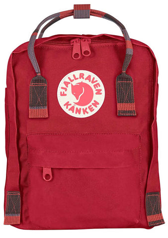 Kanken Mini Backpack in Deep Red