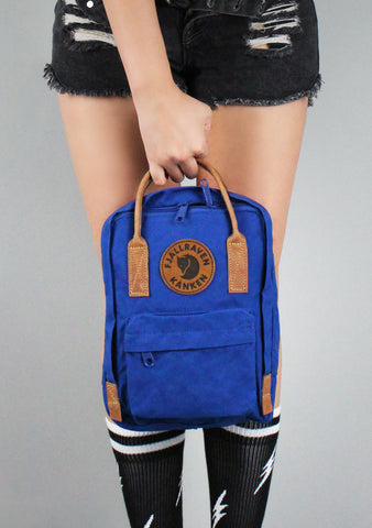 Kanken No. 2 Mini Backpack in Deep Blue