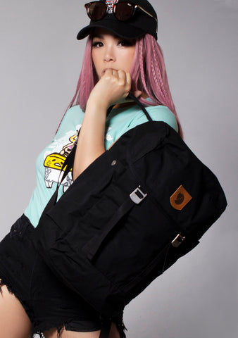 Greenland Top Backpack in Black