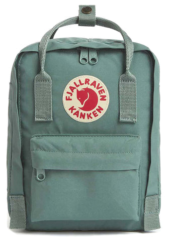 Fjallraven Kanken Mini Backpack in Frost Green
