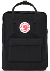 Fjallraven Kanken Backpack in Black