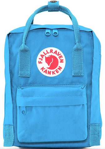 Fjallraven Kanken Mini Backpack in Air Blue