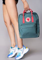 Kanken Backpack in Frost Green/Peach