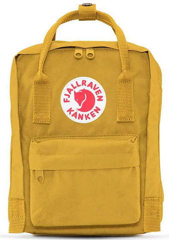 Kanken Mini Backpack in Ochre