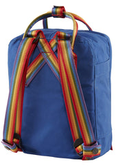 Fjallraven Kanken Rainbow Mini Backpack in Deep Blue Rainbow