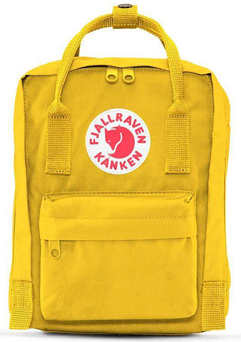 Fjallraven Kanken Mini Backpack in Yellow