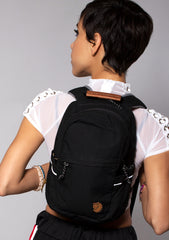 Fjallraven Raven Mini Backpack in Black