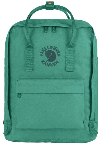 Fjallraven Re-Kanken Backpack in Emerald