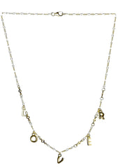 Frasier Sterling Star Crossed Lover Necklace in Gold