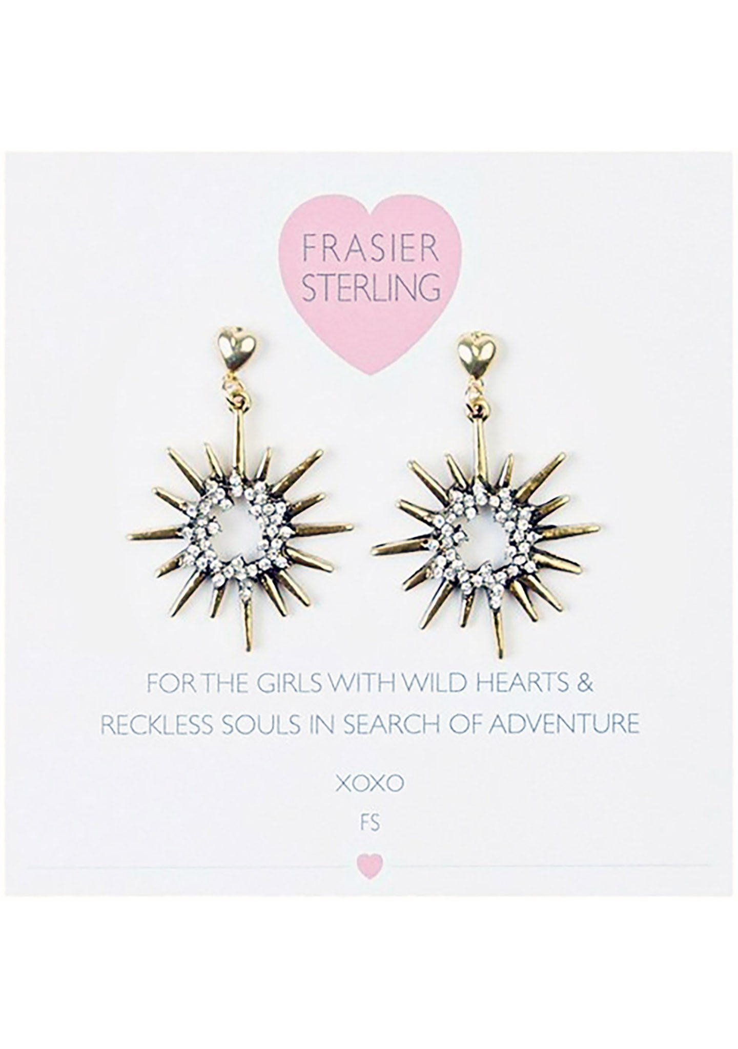 Frasier Sterling Starburst Earrings