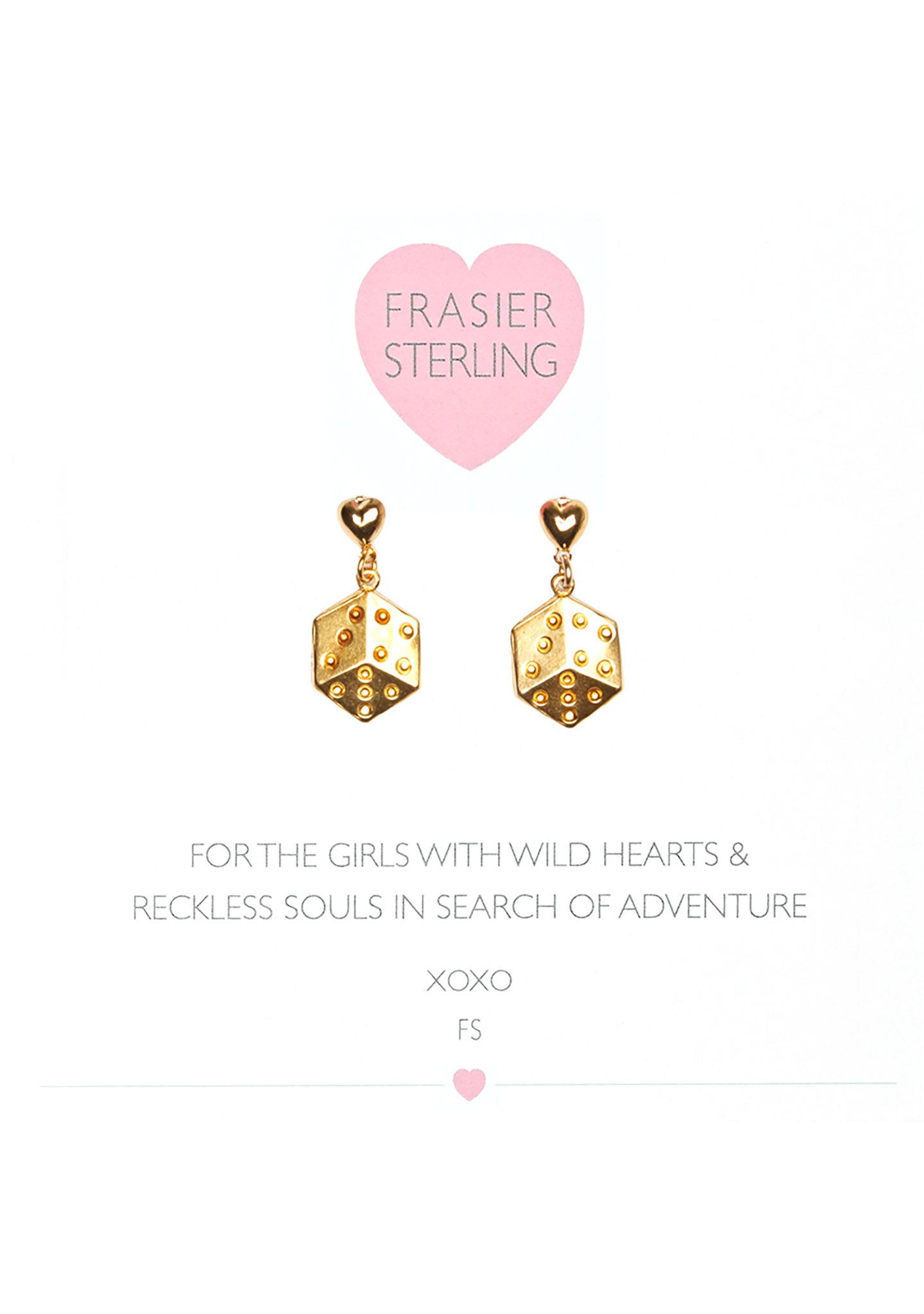 Frasier Sterling High Roller Earrings