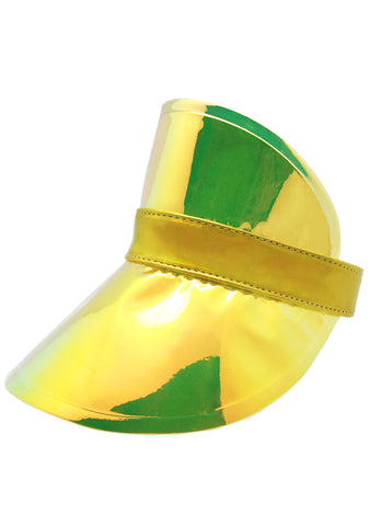 Drippin' In Gold retroElectric Visor