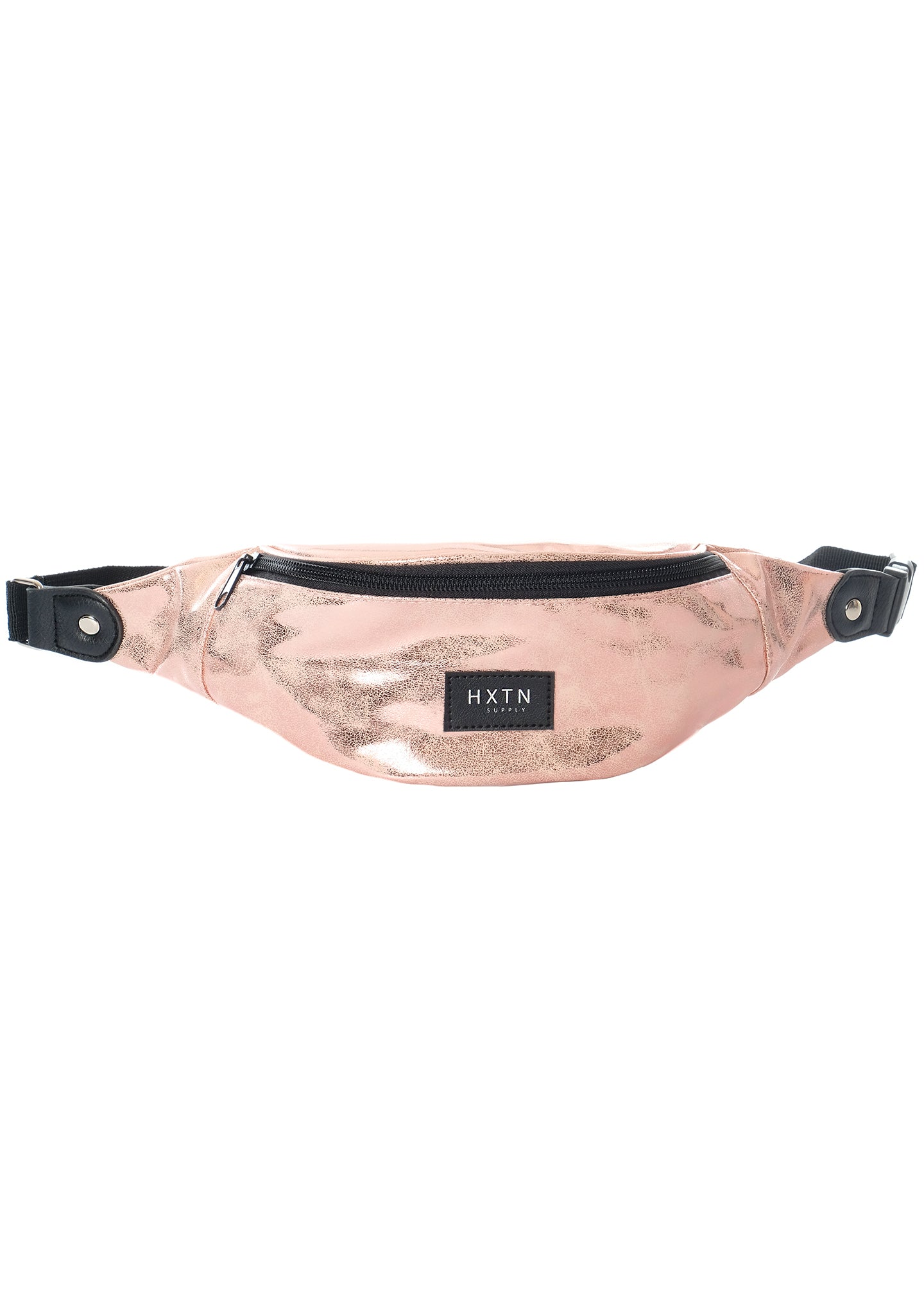 Battle Angel Metallic One Bum Bag in Rose Gold