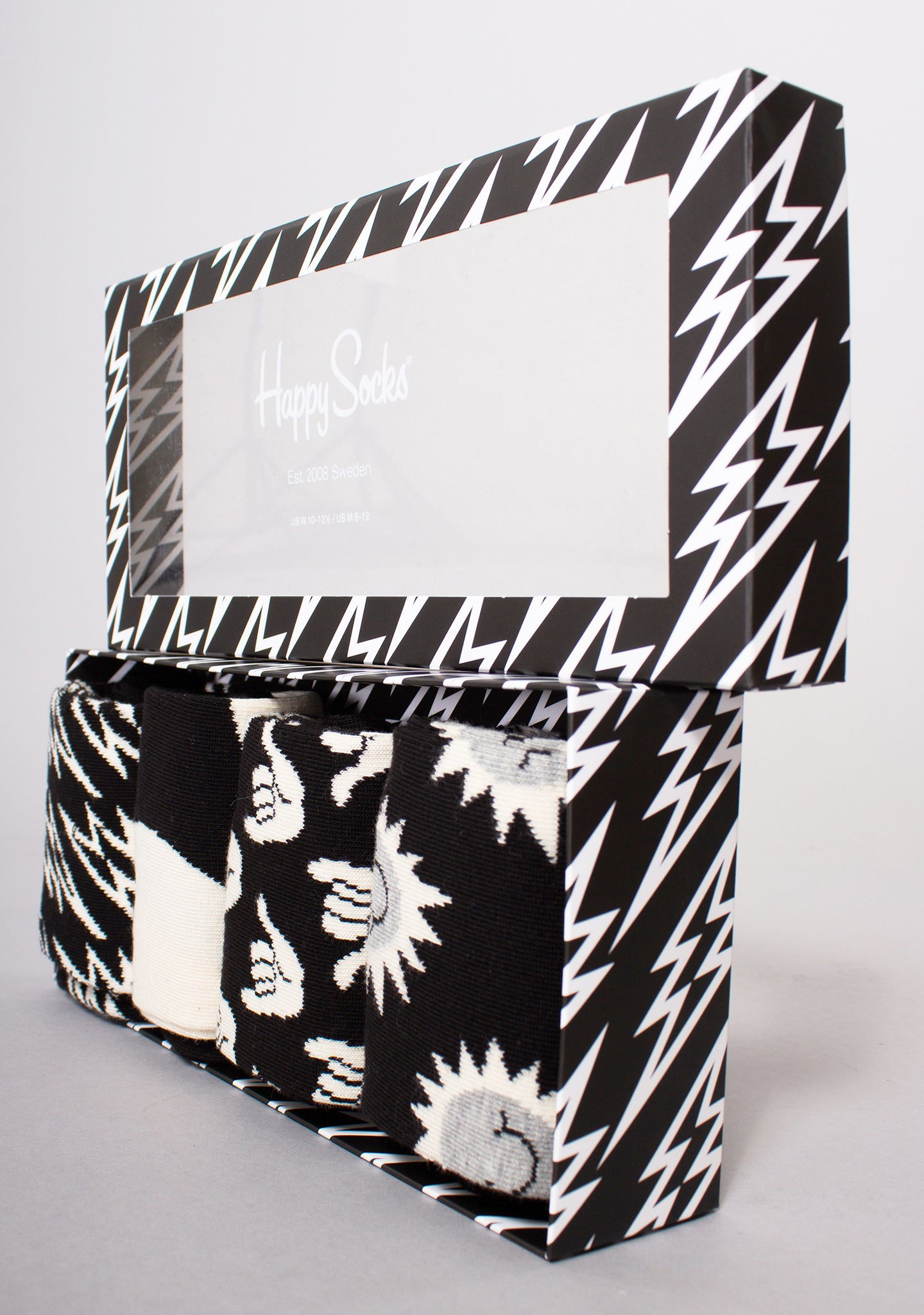 Black and White 4PK Gift Box Set
