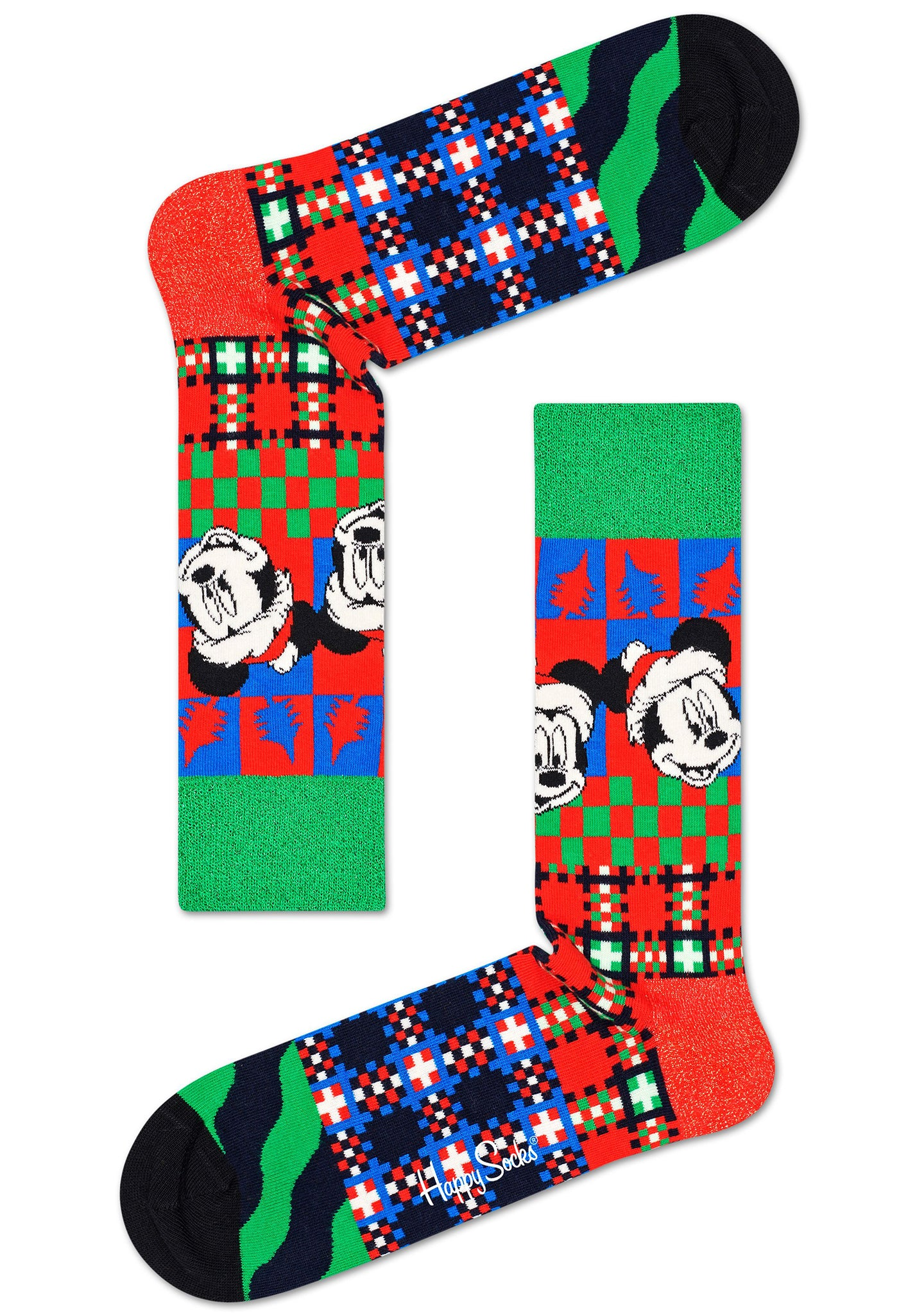 X Disney Holiday 'Tis The Season Sock