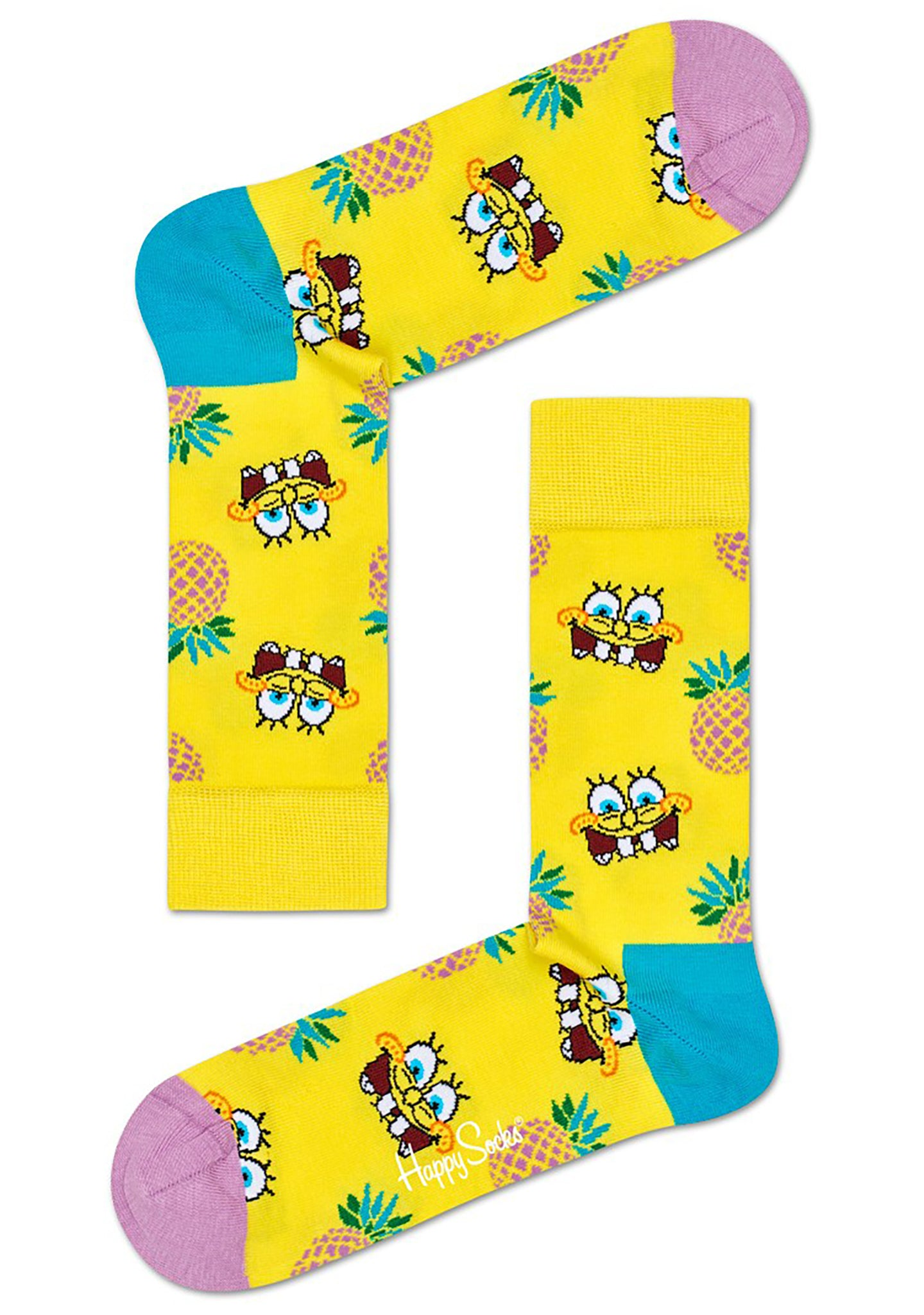 X Spongebob Squarepants 6PK Socks Gift Set