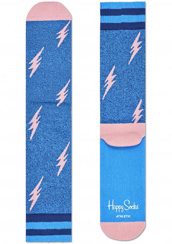 Happy Socks Flash Socks in Pink/Blue