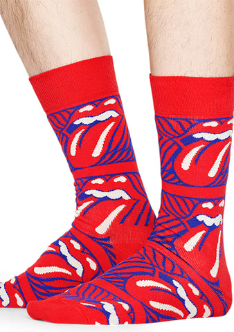Happy Socks Rolling Stones Stripe Me Up Socks