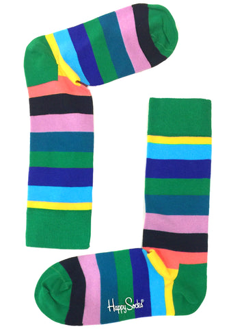 Crayon Striped Party Sock