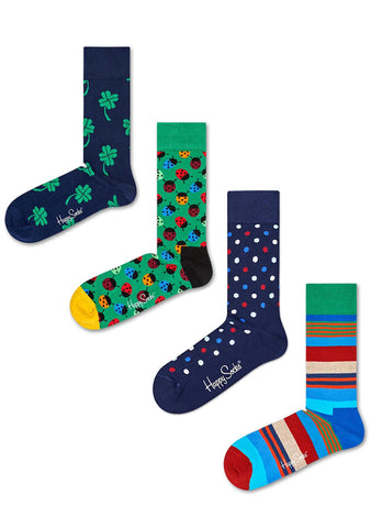 Big Luck Men's 4PK Socks Set