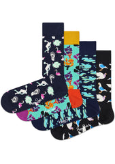 Day in the Park 4PK Socks Gift Set