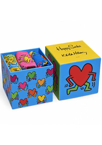 Happy Socks Keith Haring 3PK Gift Set